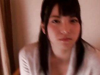 Pretty Japanese teen Ai Uehara