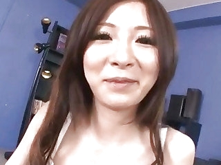 Ayami big tits Japanese deals cock almost lust