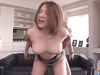 Hot japan non-specific Alice Ozawa swell up a dick